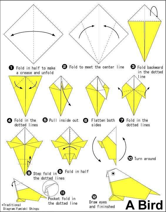 Origami instructions animals origami animal instructions of easy - Listener 4066 Rentokil By Jago 171 Listen With Others